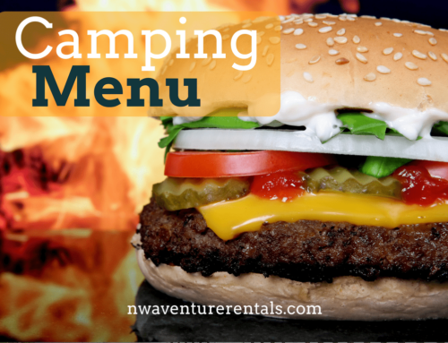 4 – 5 Day RV Camping Trip Dinner Menu