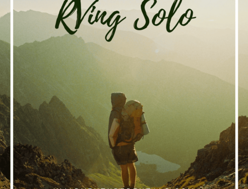 Can I RV Solo? Going Camping By Yourself