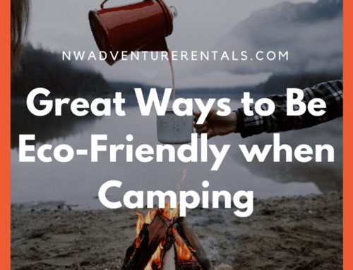 Pack it in Pack it out – How to Be More Eco-Friendly When Camping