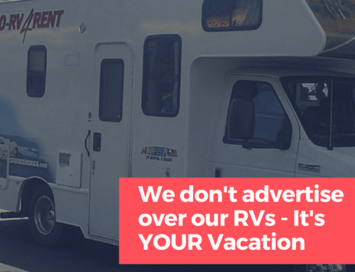 Why We Don't Advertise on our RVs