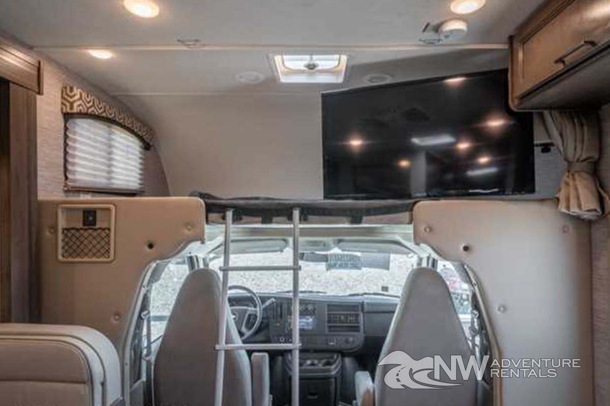 NW Adventure Rentals - 2021 Chateau Interior Cab-Over