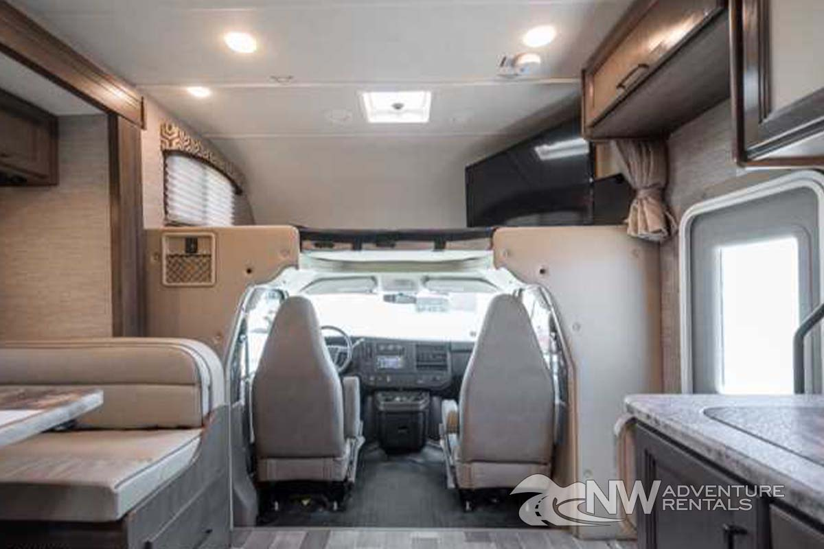 NW Adventure Rentals - 2021 Chateau Interior Cab