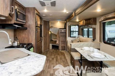 portland rv rental temporary housing