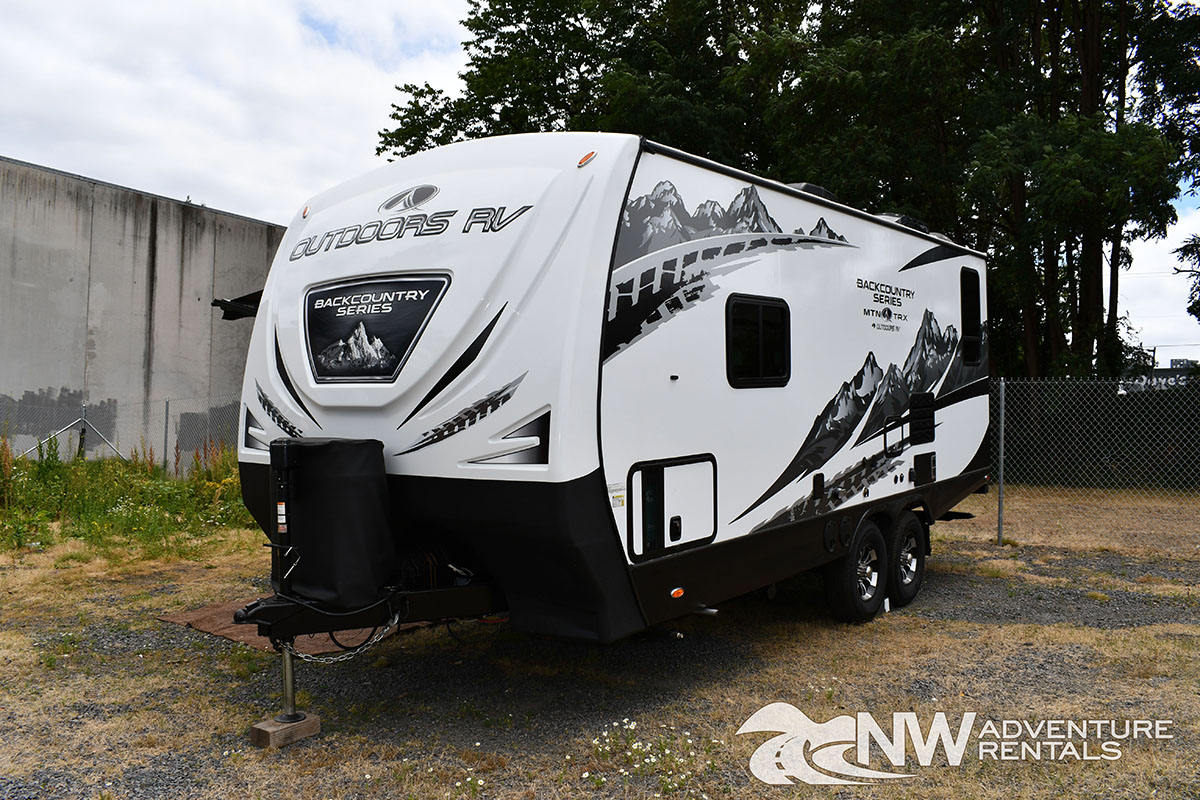 NW Adventure Rentals - 2020 MOUNTAIN TRAX EXTERIOR FRONT LEFT